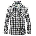 Free shipping Men Plaid Shirts 2017 New Autumn Luxury Slim Brand Formal casual Fashion  men's casual long Sleeve Shirts 75hfx