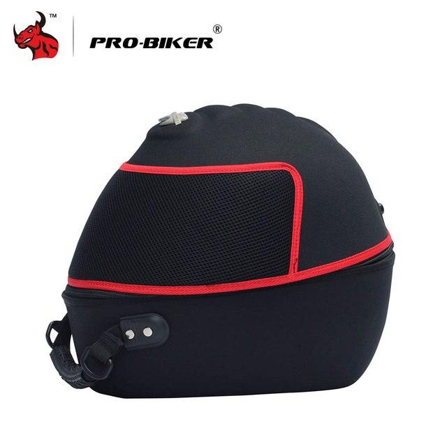 PRO-BIKER Knight Motorbike Travel Multifunction Tool Tail Bag Motorcycle Helmet Bag Motorcycle Handbag Luggage Carrier Case