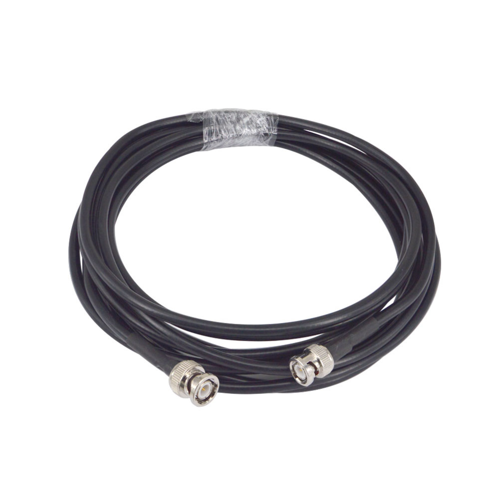 RG8X Coax Coaxial Antenna 5M Cable BNC Male to BNC Male Connectors 50 OHM Jumpers Amateur CB Radio Antenna Cable WireRG8X Coax Coaxial Antenna 5M Cable BNC Male to BNC Male Connectors 50 OHM Jumpers Amateur CB Radio Antenna Cable Wire