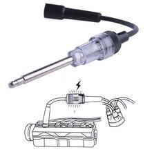 Черный Свеча зажигания система катушки двигателя в линии Авто диагностический тест er зажигания тест инструмент