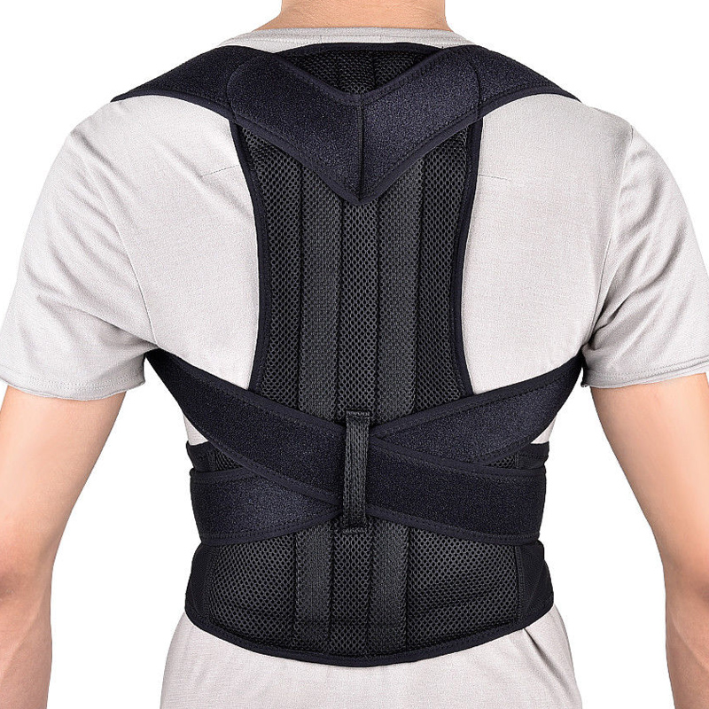 Unisex Lower Back Support Belt for Women Men Orthopedic Posture Corrector Brace Shoulder ...