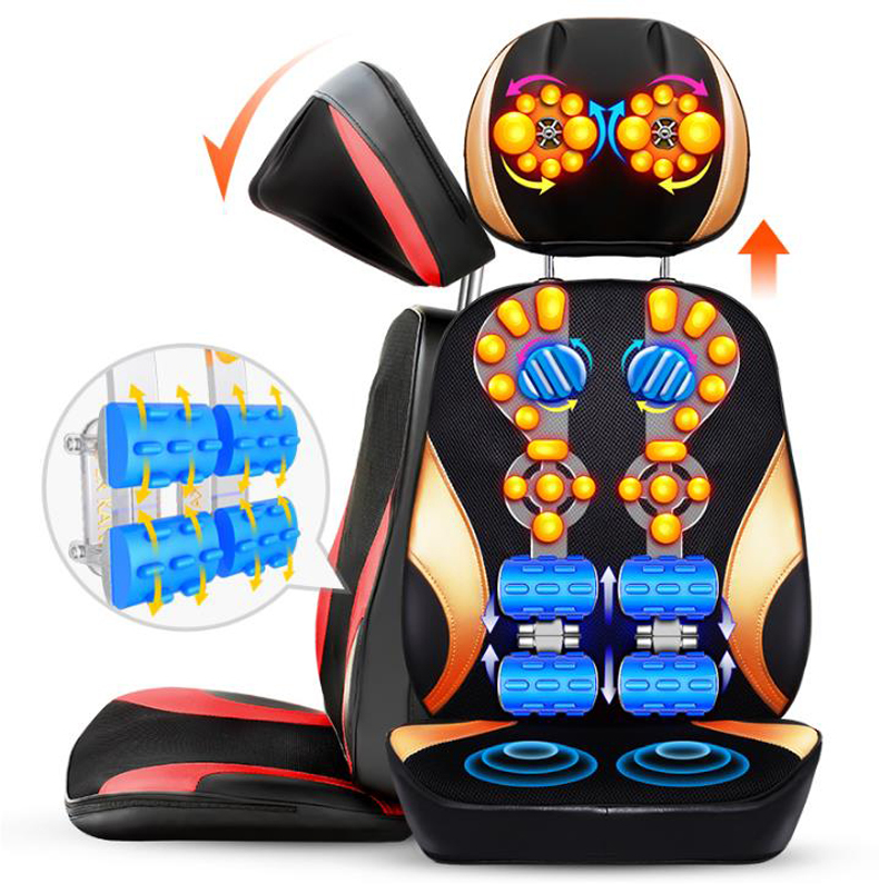 Household whole body Multi-function electric massager Cervical spine massager Neck lumbar back massage cushion/110903/1 cukyi multi function household electric grills