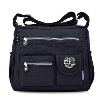 Women Shouder Bags Handbags Female Famous Brand Solid Messenger Bag Small Summer Beach Nylon Purse Sac A Main Bolsas Feminina - DISCOUNT ITEM  45% OFF All Category