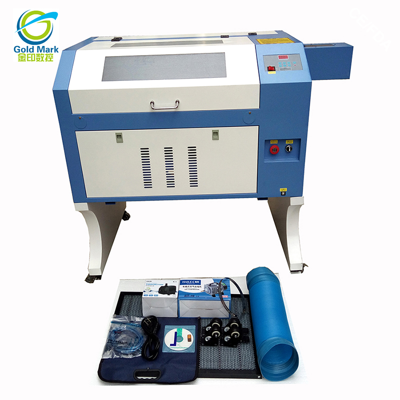 High Speed CO2 Laser Engraver Cutter Machine 80 Power With 18cm Motorized Up And Down Honeycomb Work Table Laser Engraver