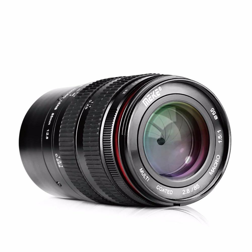 Meike 85mm F 2 8 Manual Focus Full Frame Medium Telephoto 1 5 1 Macro Lens