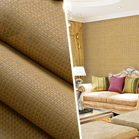 Solid Straw Natural Bamboo Plant Wallpaper Rolls for Ceilings Living Room Background 3d Stripe Wall paper Wallcoverings