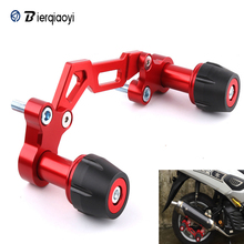 for Yamaha NVX155 AEROX155 NMAX 155 XMAX 300 PCX 125 Forza Lexi XMAX300 Adjustable Exhaust Pipe Sliders Falling Protection