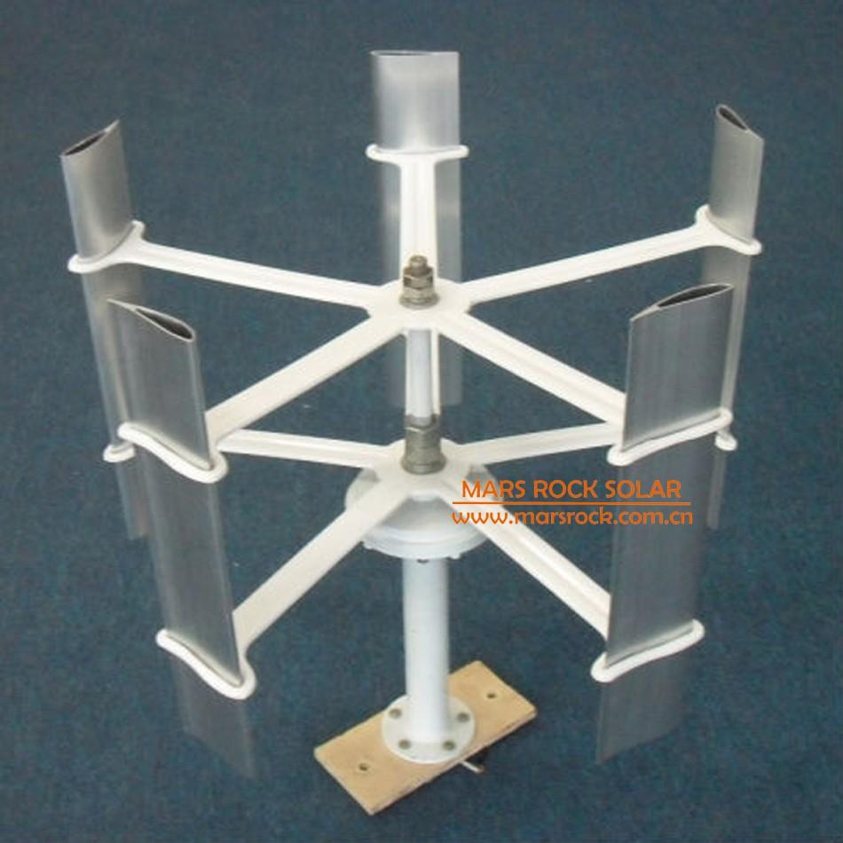 500r M 10w 12v 5 Blades Mini Vertical Axis Wind Turbine Swept Area Turbines Wiring Diagram 10 30w