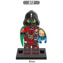 Único star wars super-heróis da marvel dc comics NINJA Krux modelos blocos de construção de tijolos brinquedos para as crianças kits de brinquedos menino