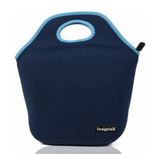 Heopono Reusable Cooler Insulated Thermal Tote Thick Insulated Neoprene Lunch Bag(China)