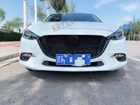 FOR Axela FRONT RACING GRILL GRILLE FIT For Mazda 3 Sport Axela 2017 2018 grills