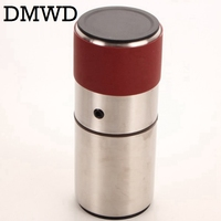 DMWD Manual Black Coffee Maker hand pressure espresso machine mini coffee bean grinder outdoor Travel portable coffee pot Bottle