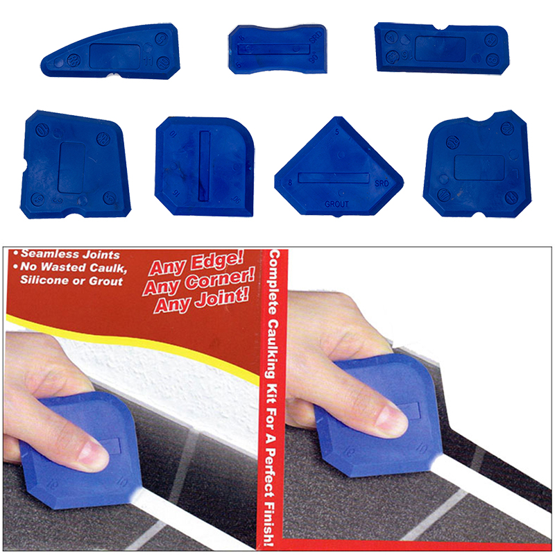 4/5/9pcs Window Door Silicone Glass Cement Scraper Tool  Silicone Sealant Spreader Spatula Scraper Cement Removal Tool Kit NEW-in Squeegees from Home & Garden