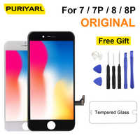 Original LCD Display For iPhone 7 8 7 Plus 8 Plus Screen Display Wiht Best 3D Touch Screen Replacement Digitizer AAA Assembly