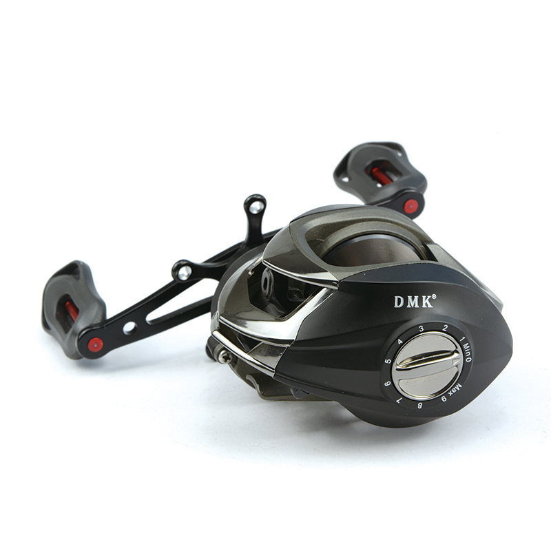 DMK Bait Casting Fishing Reel 13 1BB 6 3 1 8kg R L Hand High Speed Molinete Peche Carretilha Carretes Pesca Round Saltwater Reel in Fishing Reels from Sports Entertainment