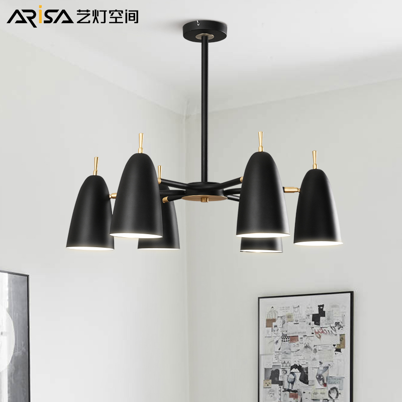 LED Nordic Modern hanging lights creative Fixtures lighting Novelty living room chandelier bedroom restaurant chandeliers nordic retro fixtures post modern chandelier living room hanging lights restaurant lamps bar lighting cafe chandeliers
