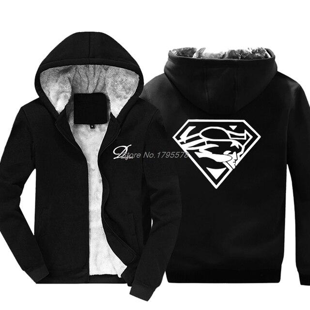 Super Patriots Fan Hoodie Superman New England Pats Fans Sweatshirt