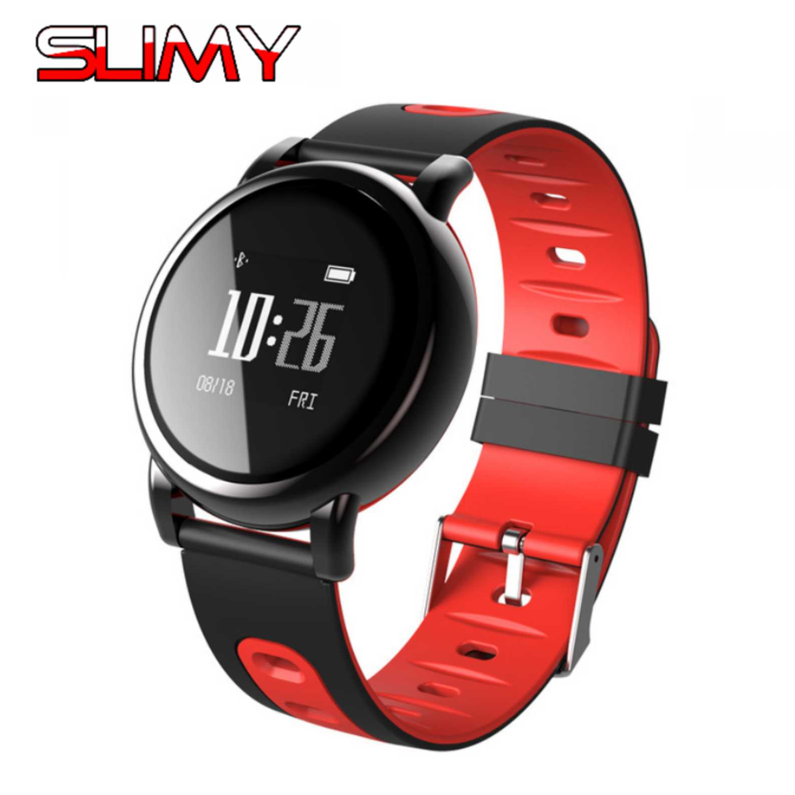 Dm98 Smart Watch Strap Silicone Wrist Band Strap Metal Buckle