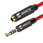 Headset Extension AUX Cable 3.5mm Audio Auxiliary Stereo Male to Female Extension Cable
