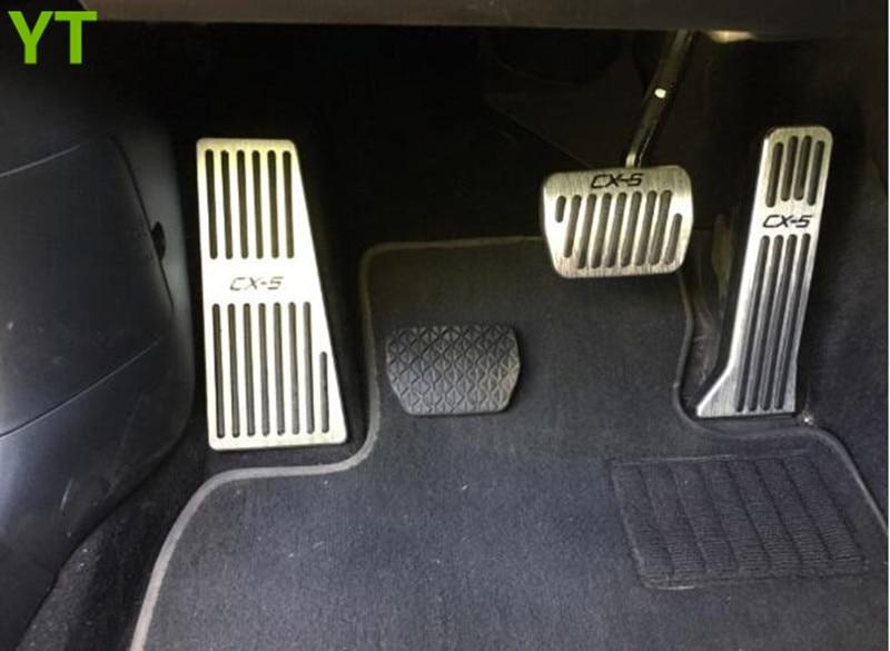 Auto footrest gas accelerator pedal,brake pedal for Mazda cx 5 CX-5 2012-2018, car accessories