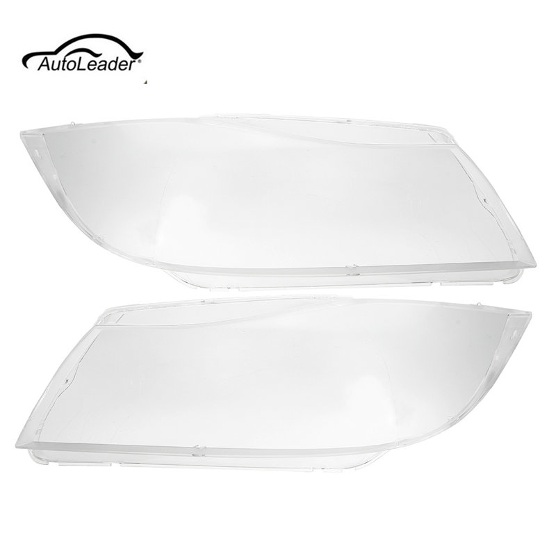 Pair Car Front Headlamp Clear Lens Headlight Plastic Shell Clear Cover For BMW E90/E91 2004 2005 2006 2007 for chevrolet lova optra 2006 2007 2008 car headlight headlamp clear lens shell cover driver