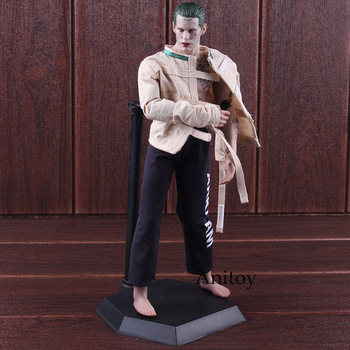 Crazy Toys Joker Suicide Squad The Joker Figure Action Arkham Asylum Version 1/6th Scale Collectible Figure Clothes Detachable