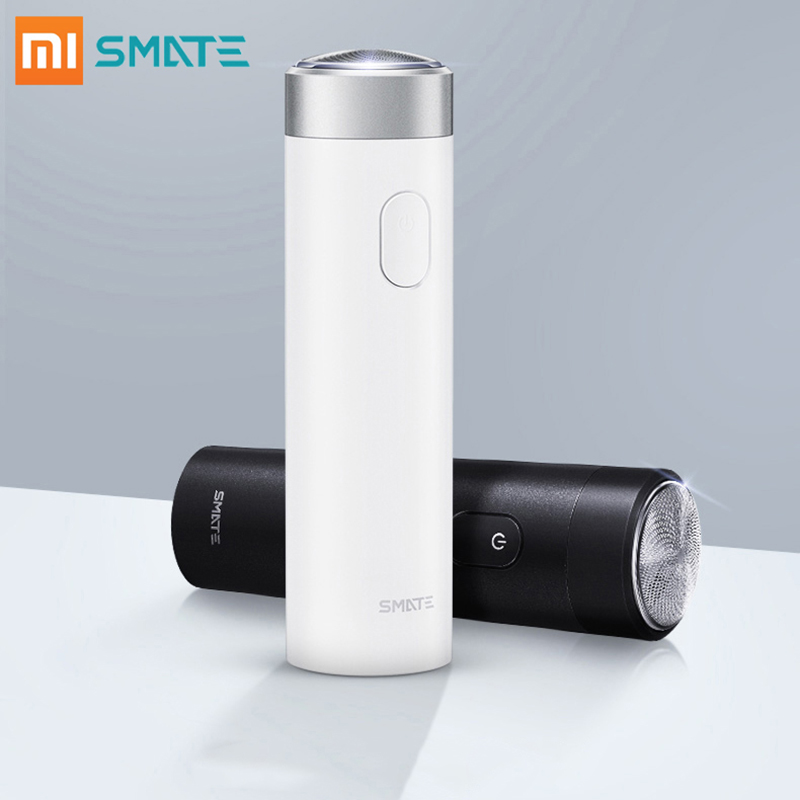 Xiaomi Smate Electric Shaver for Men Flex Razor Dry Wet Shaving Machine USB Rechargeable IPX7 Waterproof One Blade Comfy Clean-in Electric Shavers from Home Appliances