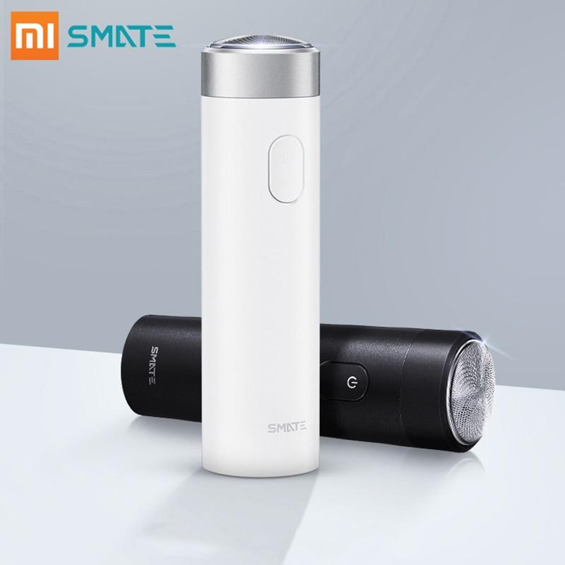 Xiaomi Smate электробритва для мужчин, гибкий бритвенный станок для сухого влажного бритья, перезаряжаемый через USB IPX7, водонепроницаемый, с одним лезвием, удобная чистка