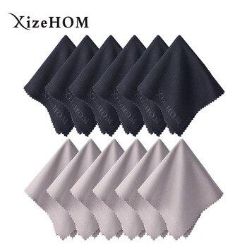 XizeHOM 30*30 cm/12 Uds. Envío Gratis nuevo paño de tela para gafas toallitas para cámara de teléfono móvil ordenador Lcd Monitor Ipad limpieza