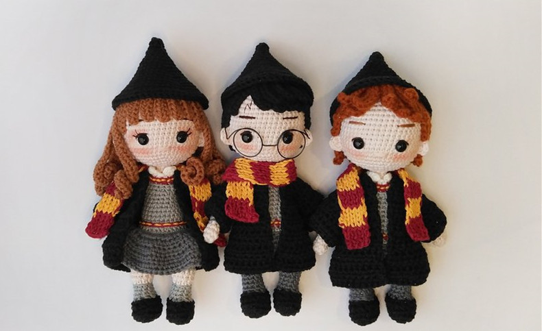 Crochet Toys  Amigurumi   Amigurumi  Doll Rattles  Number  WS0042