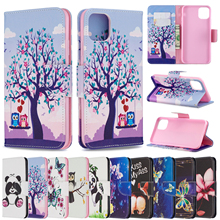 Case For iphone x xr xs max Butterfly Beauty Printed PU Leather Card Wallet Stand Cute Panda Flip Covers For iPhone XS MAX XR 11 цена