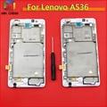Display lcd touch screen digitador assembléia com quadro completo para lenovo a536 + ferramentas frete grátis