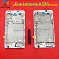 LCD Display Touch Digitizer Screen Assembly with frame Complete For Lenovo A536 +Tools Free Shipping