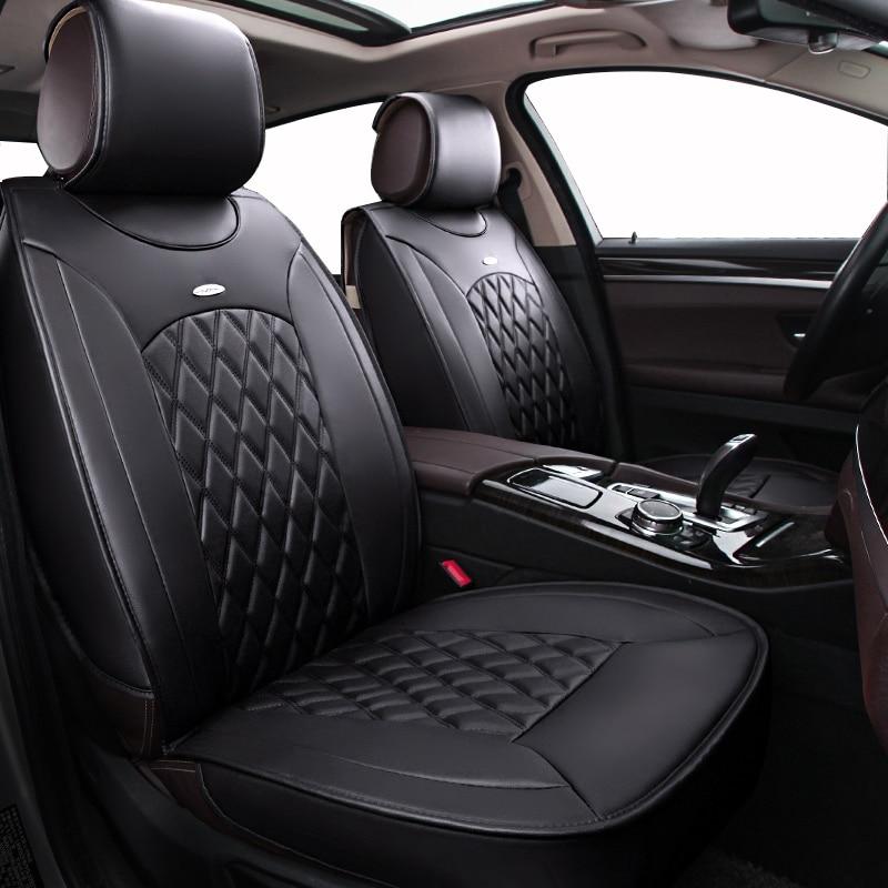 Kokololee Pu Leather Universal Car Seat Covers For Toyota Mazada ...