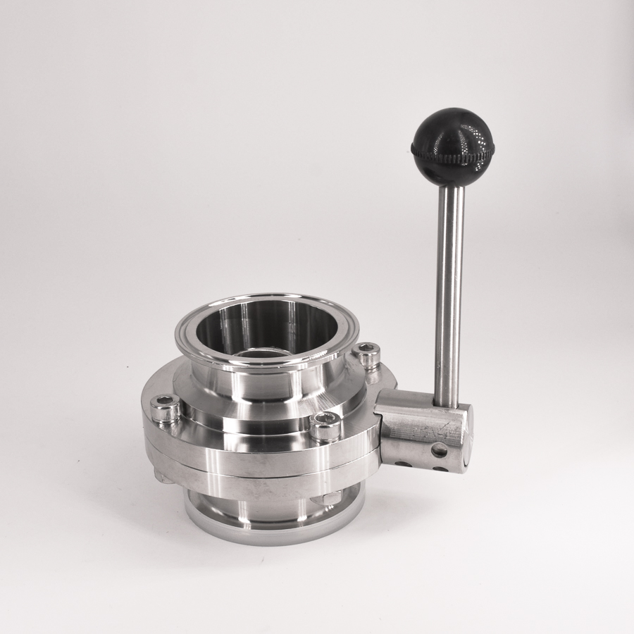 Fit 63mm Pipe OD x 2.5 Tri Clamp Sanitary Butterfly Flow Control Valve SUS 304 Stainless Beer Brewing Home настольная лампа eglo amonde 95223