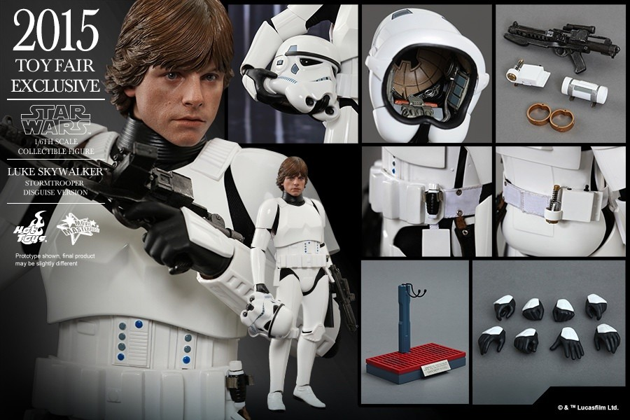 Free Shipping Hot Toys Ht Mms304 Star Wars Episode Iv A New Hope Luke Skywalker Stormtrooper Disguise Version Collectible Figure Action Toy Figures Aliexpress