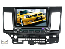 4UI intereface combined in one system CAR DVD PLAYER FOR MITSUBISHI LANCER 2006-2013 bluetooth tv gps navi radio stereo MAP FREE