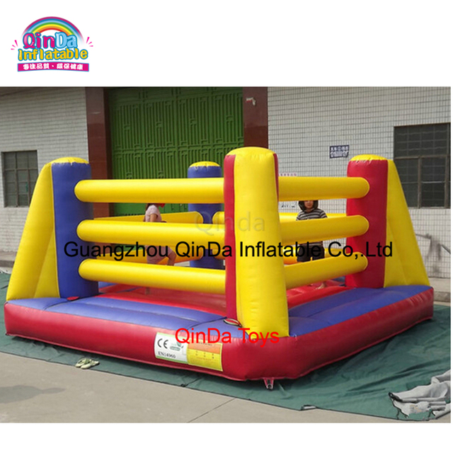 PVC Inflatable Outdoor Sport Games Inflatable Gladiator Inflatable Boxing Wresting Ring For Sale