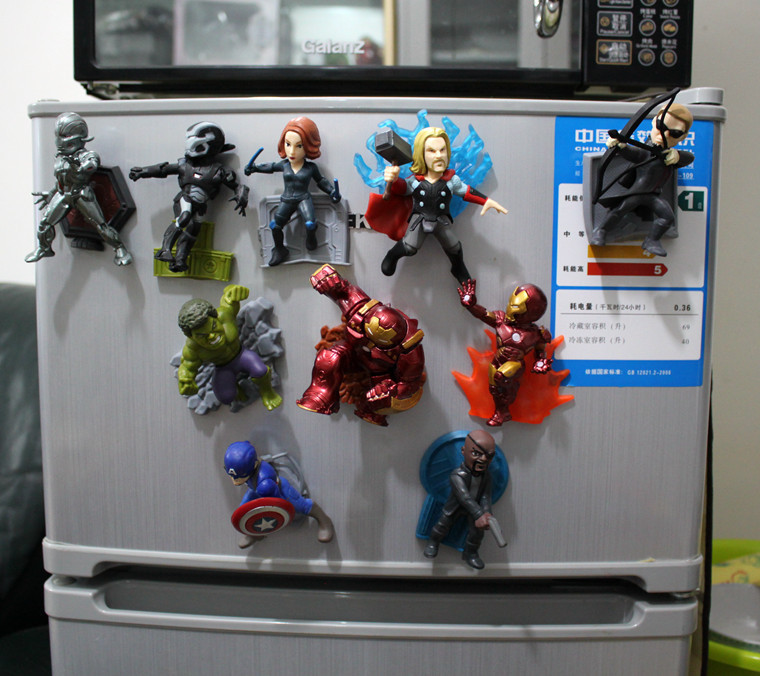 ФОТО The Avengers 2 models Captain America iron man Thor Hulk Avengers action figures 10 pieces one set toys figures