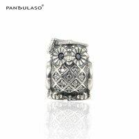 100 925 Sterling Silver Jewelry Bead Fit European Silver Charm Bracelet Choker Owl Shape Bead Women