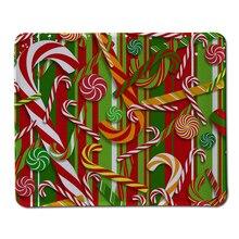 Лучшие Продажи Индивидуальные Коврик Для Мыши Конфеты Рождество Клавиатуры Прохладный Рождество Ноутбук Прямоугольник Резиновый Коврик Для Мыши Pad