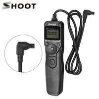 SHOOT RS-80N3 LCD Timer Shutter Release Remote Control for Canon EOS 5D Mark II 5D 6D 7D 10D 20D 30D 40D 50D 1D 1DS 5D Mark III