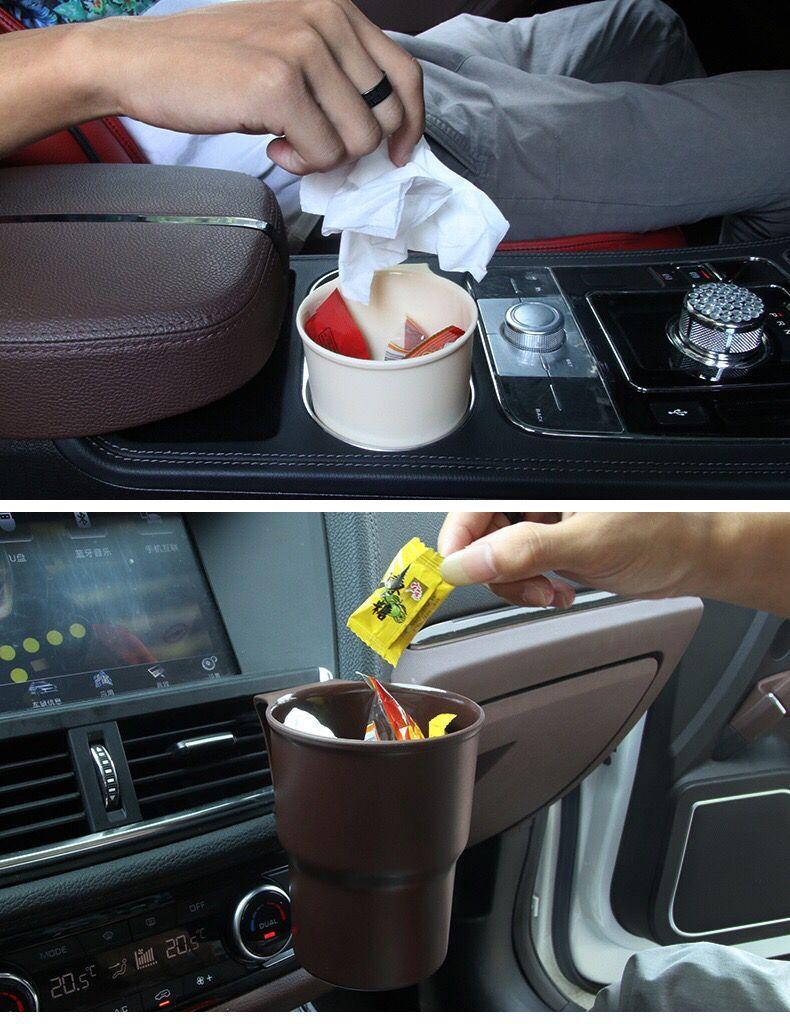 Универсальный пылезащитный чехол для мусора авто мусорное ведро для mazda CX-5 nissan x-trail t32 skoda ford focus 2 3 renault subaru kia sport