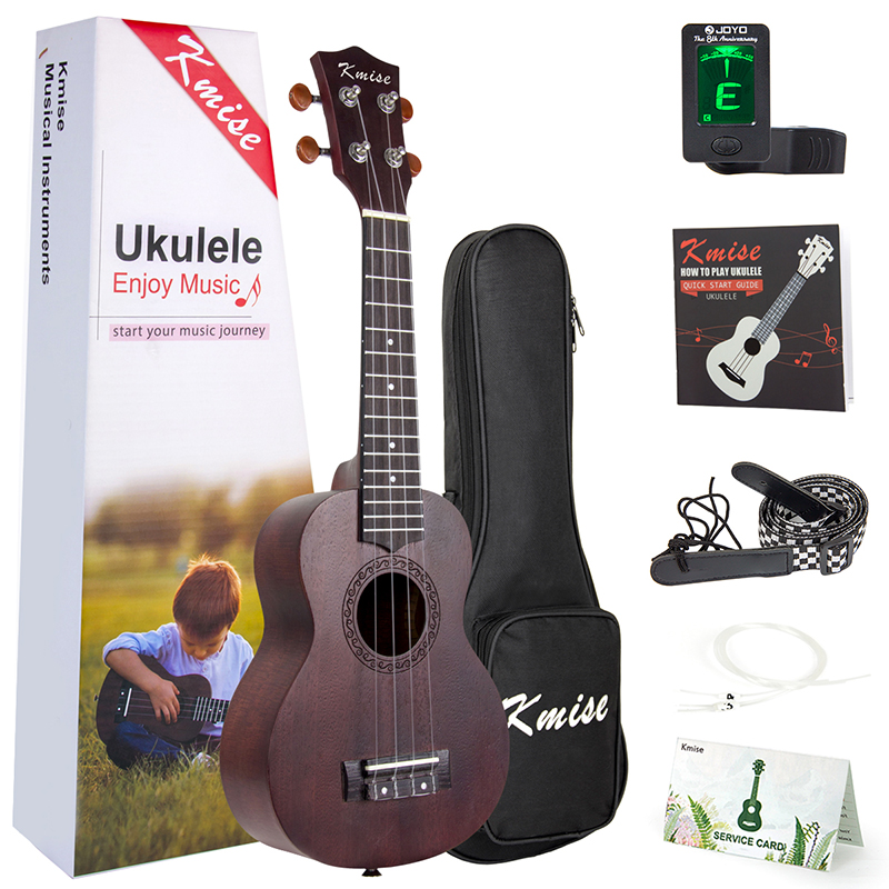 Soprano Ukulele 21 inch Mahogany Ukulele 4 String Guitar fly–fishing with children – a guide for parents page 6