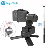Feiyutech Feiyu WG2X Waterproof 3 Axis Brushels Gimbal Stabilizer for Gopro Hero 7 6 5 4 DJI osmo Action Sony RX0, Updated WG2
