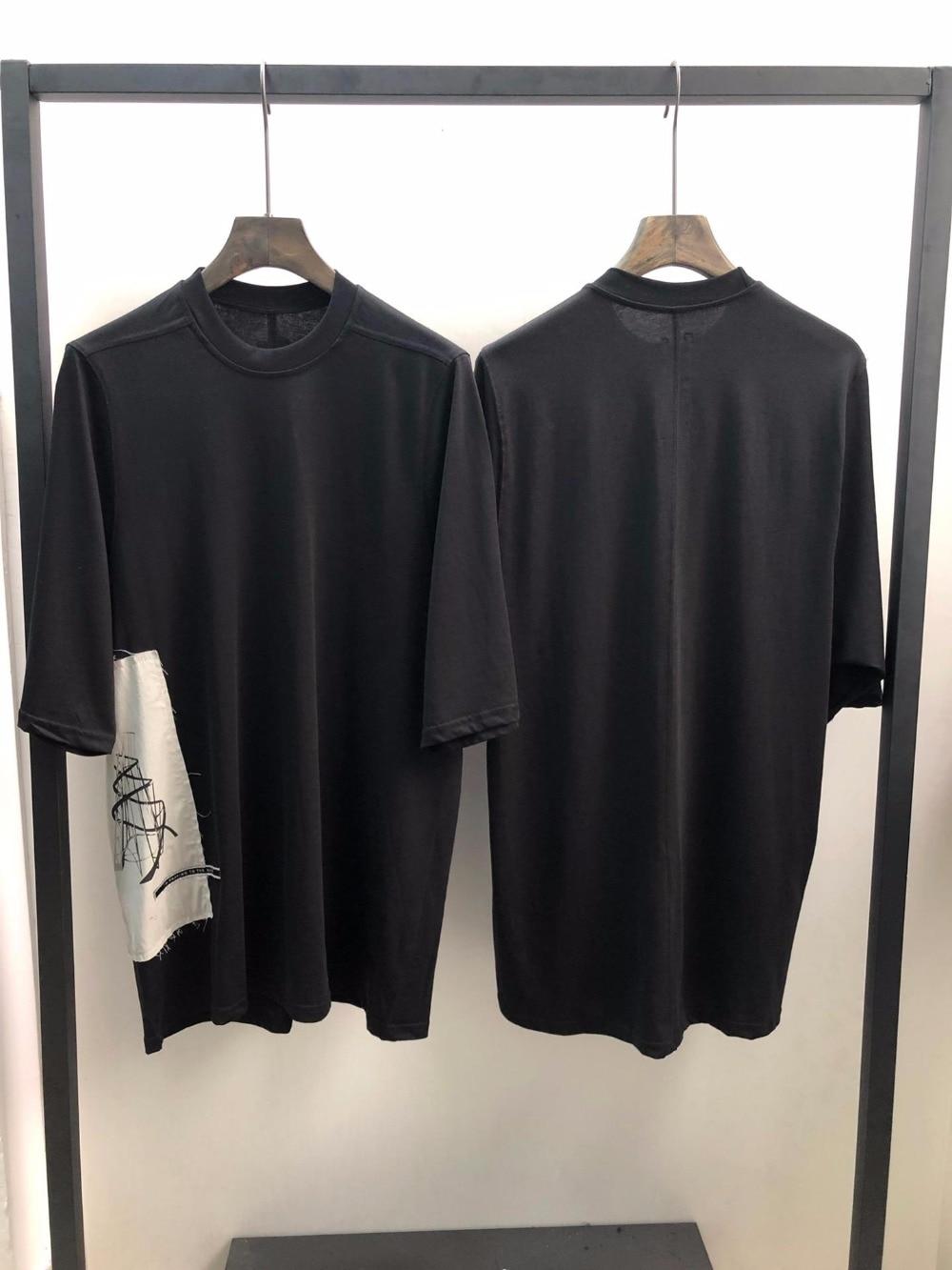Erkek Kıyafeti'ten Tişörtler'de 19ss Owen seak Erkekler T Gömlek % 100% Pamuk Gotik Tarzı erkek giyim Büyük Boy Üstleri Tee Yaz Kadın Tee Siyah T Shirt'da  Grup 1