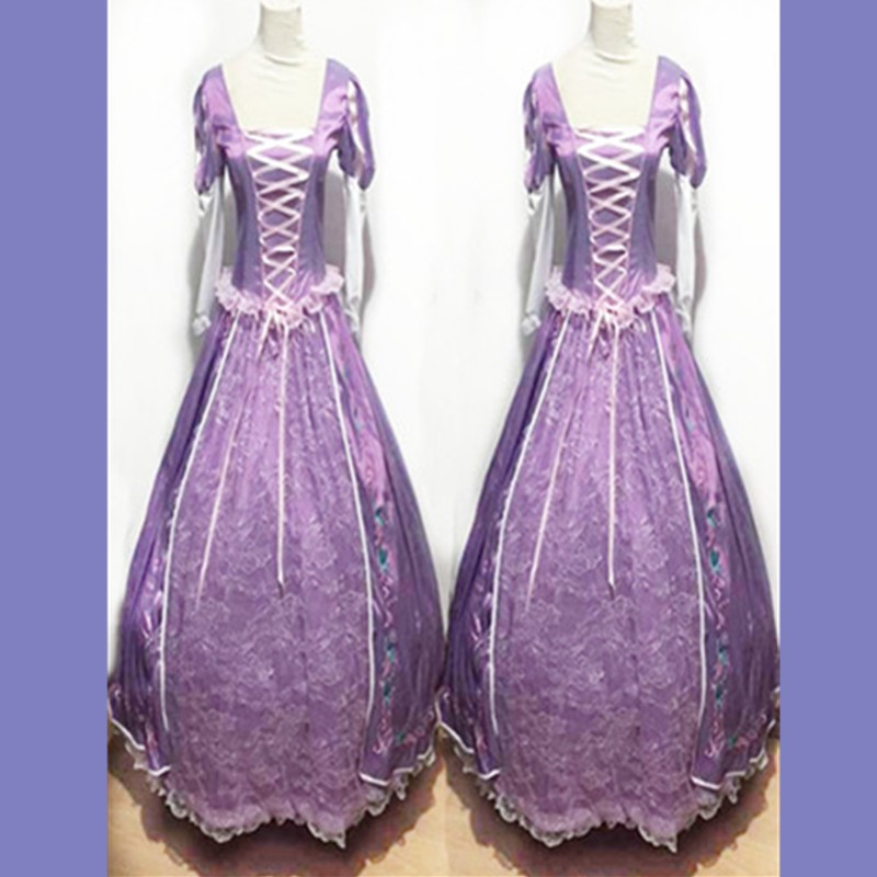 ᗐCaliente princesa Rapunzel disfraces trajes adultos para Halloween ...