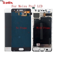 In Stock 5.2Inch Super AMOLED For Meizu Pro 7/Pro7/Pro 7 Plus 100%Tested LCD Display Touch Screen Digitizer Assembly Replacement