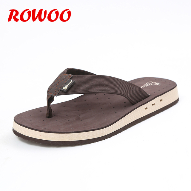 4ee941874f4bb Summer Casual Beach Flip Flops Men Classic Style Rubber Sandals Male  Lightweight Shower Slippers Slide Flip Flops Men Slippers