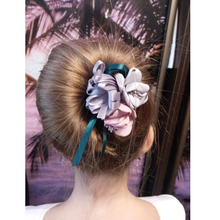 Flower Donut Bun Maker Big Pearls Hair Curler SF